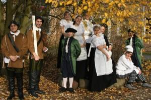 Martensschmaus - das Ensemble im Herbst